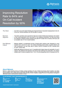 Improving Resolution Rate to 84% and On-Call  Incident Resolution by 50%